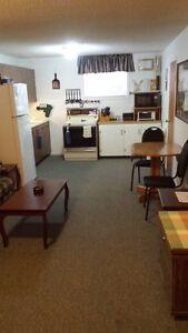 Fully Furnished 2 Bedroom Basement Suite