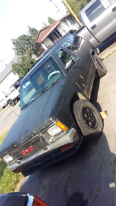 1993 GMC jimmy project vehicle