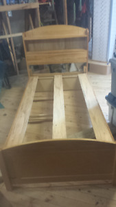 Solid Pine Twin Size Bed