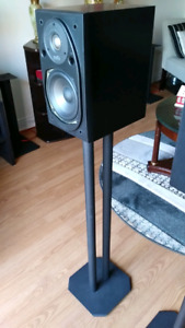 Polk Audio Rt25i with Stands.