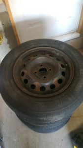 "4 bolt 14"" Honda rims $50 for all 4"
