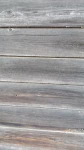 Beautiful barn board
