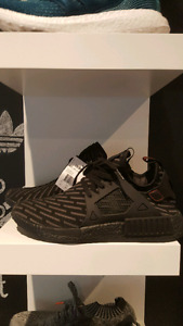 Adidas NMD XR1 Triple Black Primeknit Deadstock size 10s