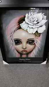 Angelina Wrona Framed Glass Picture