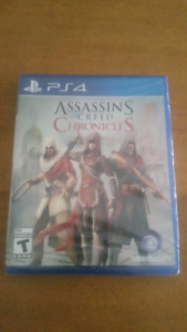 Assassin's creed chronicles unopened ps4