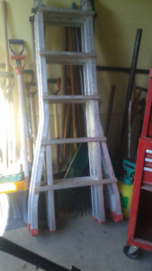 Jaw Heavy Duty Multi purpose ladder