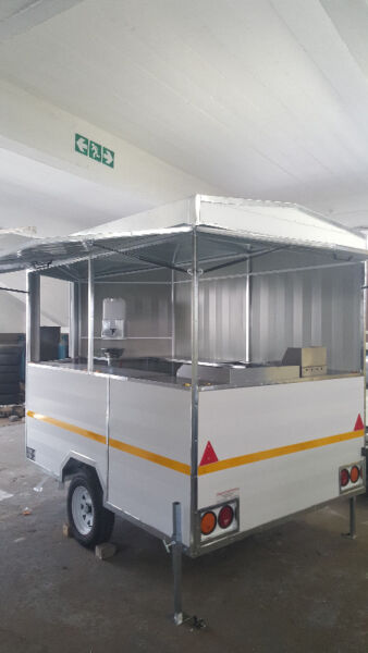 Fully Equipt Brand New Food Trailer 2.5 x 1.8