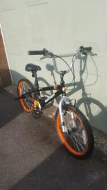 """Pirahna Rapture 20"""" Wheel BMX bike"""