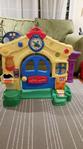 Fisher-price learning door/home