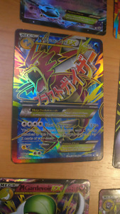 Replica Mega EX pokemon cards