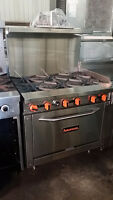 Commercial Stoves and Ranges for Sale - Griddles In Stock Too