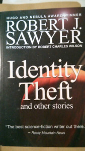 Identity Theft - Short stories collection book (Canadian author)