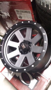 NEW 18X10 -19 5X139.7 ION WHEELS
