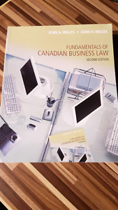 Fundamentals of Canadian Business Law