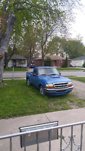 1998 ford ranger as is. Lots of good parts.  If interested text