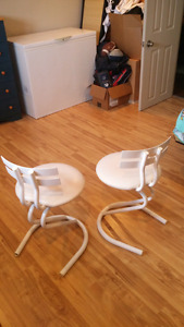 2 Chaises Blanche