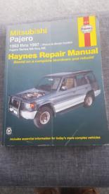 Mitsubishi Pajero Haynes manual