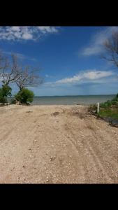 Lakefront lot