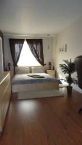 Furnished -Spacious,  clean - West of Village - Metro Berri-UQAM