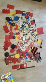 Vintage MECCANO job lot kids toys retro