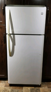 White Appliances Fridge/Stove/Microwave