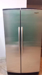 KitchenAid Stainless Steel Fridge + Freezer