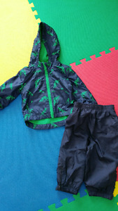 Boys Spring Jacket and splash pants (size 6-12 months)
