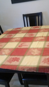 Country fall tablecloth