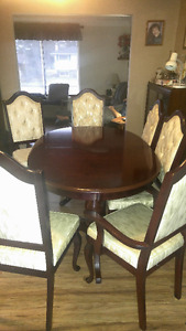 Solid Cherry Dinning Room set