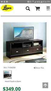 Brand New Leons Expresso TV Stand !