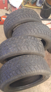 205/55/R16 studded winter tires