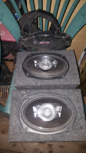 JVC 6x9's used once . New condition.