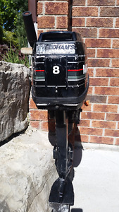 8HP Mercury Outboard