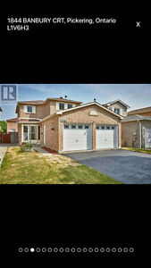 Pickering full house 3+1 bedroom 3.5 washroom