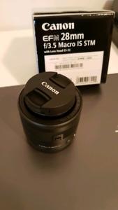 Canon EF-M 28mm 3.5 IS STM lens