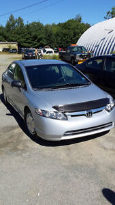 2008 Civic 4 Door ((NEW MVI TODAY)) CAll or Text 209-9180
