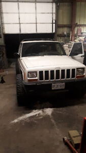 Selling my jeep project . 2 jeeps