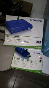 Wireless G Router + USB adapter