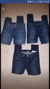 Rag and Bone, Seven for All Mankind size 26 27 Jeans