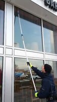 Commercial and institutionnal window cleaning