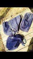 Saddle Bag, Saddle Cover and Bridle Bag