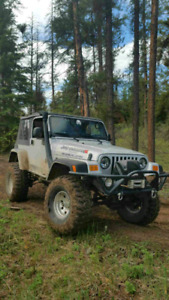 2003 Jeep Wrangler TJ Rubicon Custom built