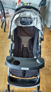 Graco click connect stroller in very good condition