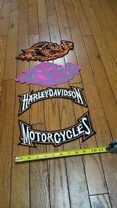 Harley Davidson Patches  Harley Rocker set $25.00 Harley Hog Pat