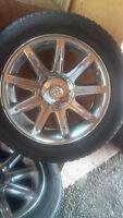 4 factory 18 inch Chrysler Chrome rims