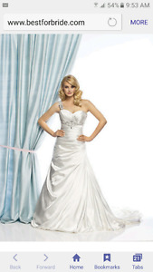 SIZE 6 Madison wedding dress NEVER WORN