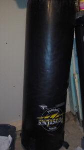 Martial Arts Powerline Training Equipment Heavy Punching Bag