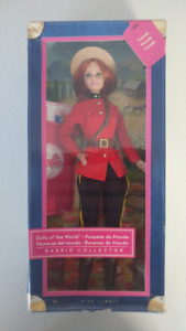 Barbie Dolls of The World - Canada - RCMP - Mountie - NEW IN BOX