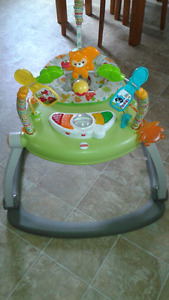 Jumping chair for baby