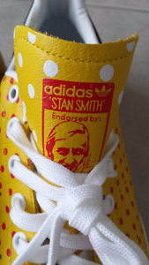 Brand new Adidas Stan Smith Original Pharrell Williams Yellow